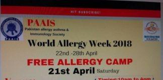 Free Allergy Camp organized at NPC