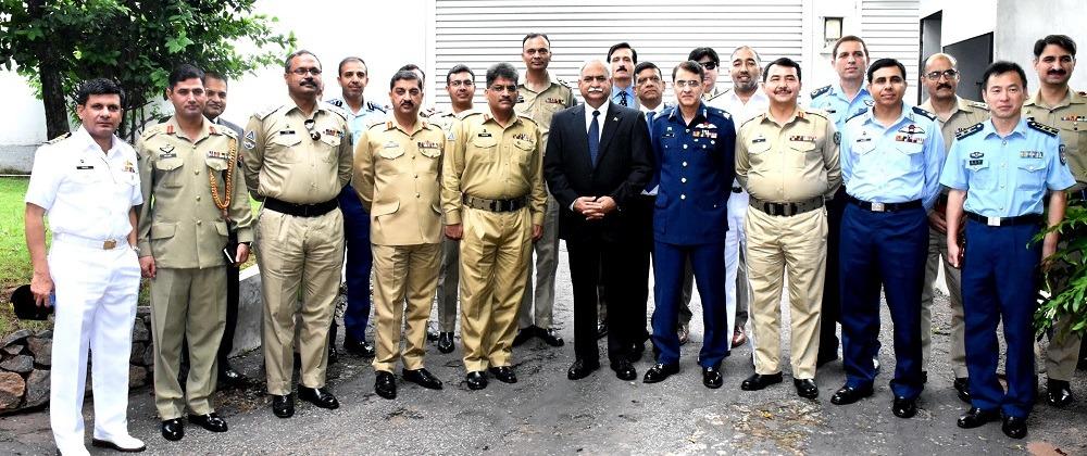 NDU delegation visits Sri Lanka