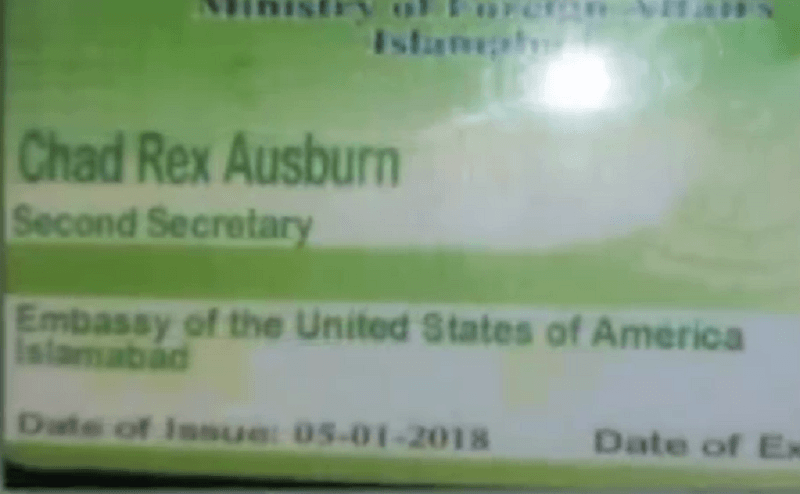 US Embassy Officer in Pakistan Is Charged With Obstruction