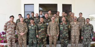 Afghan military delegation visits Headquarters Southern Command Quetta