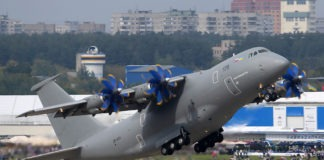 Ukraine and Turkey are developing military cargo transport aircraft AN-188