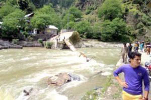 Kundal Shahi Bridge Collapse in Neelum Valley