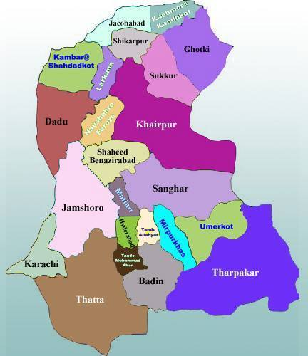 Provincial Assembly Constituencies Maps of Sindh for General