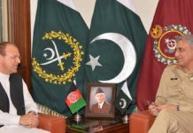 Afghan envoy thanks Pakistan Army Chief for efforts in importing bilateral ties