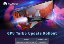 Huawei Ushering Rebirth of Your Smartphones with GPU Turbo Technology