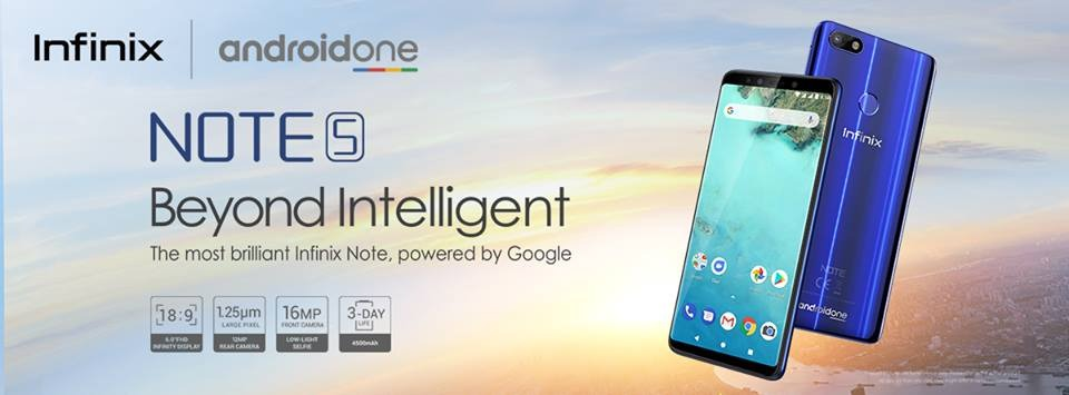 Infinix Note 5 Now Officially Available on Goto.com.pk