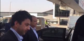 Nawaz Sharif leaves Abu Dhabi airport, goes to unknown place