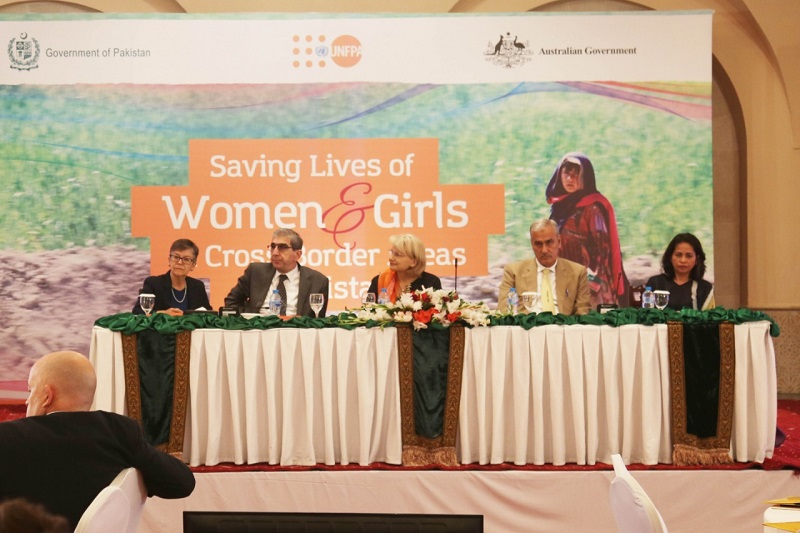 Project Launch: Saving Lives of Women and Girls in Cross Border Areas in Pakistan