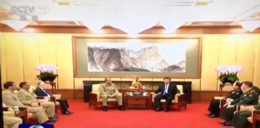 CPEC destined to succeed, Pak Army Chief says in meeting with Chinese president