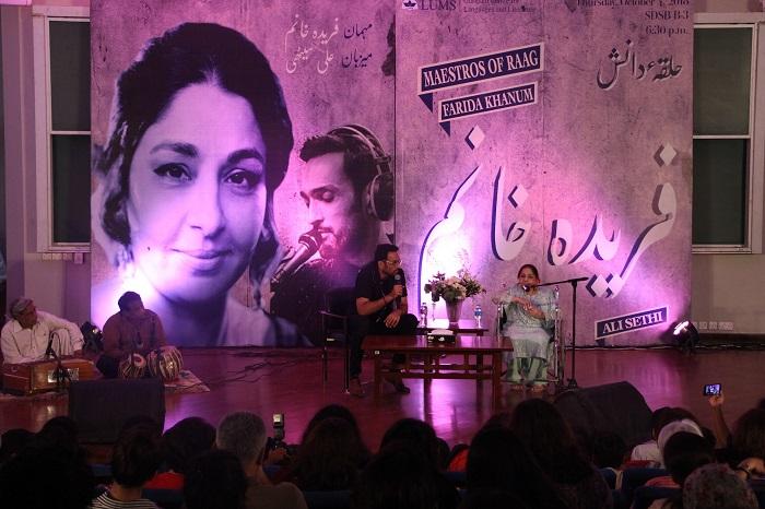 An Evening with Farida Khanum and Ali Sethi at LUMS