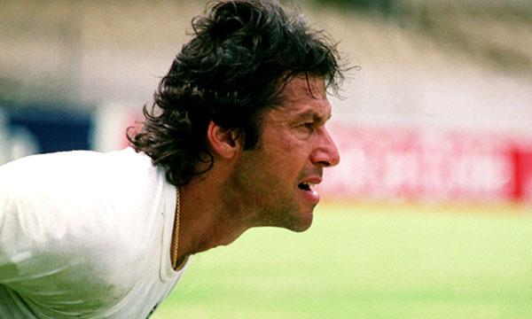 Pakistani Cricketers Imran Khan