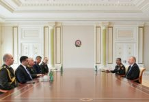 General Staff of Turkish Armed Forces met President Ilham Aliyev