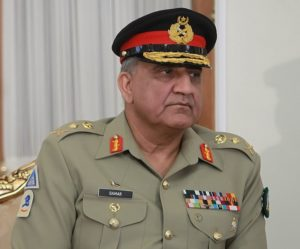 General Qamar Javed Bajwa - The Ambassador of Switzerland to Pakistan & Afghanistan H.E. Benedict de Cerjat held a meeting with the Chief of Army Staff (COAS) General Qamar Javed Bajwa at Pakistan army's general headquarters in Rawalpindi on Monday. In a statement, the Inter-Services Public Relations (ISPR) said that during the meeting matters of mutual interest and regional security situation were discussed. The ISPR said that the visiting dignitary appreciated the bilateral relations enjoyed between Pakistan and Switzerland and pledged to further improve the same. The Switzerland ambassador acknowledged Pakistan's contribution for conflict prevention in the region, the ISPR added.