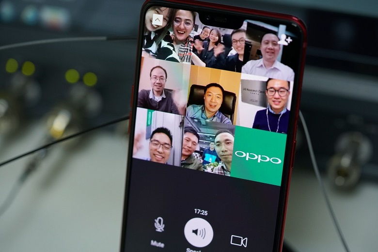 OPPO Completes World's First 5G Multiparty Video Call on a Smartphone