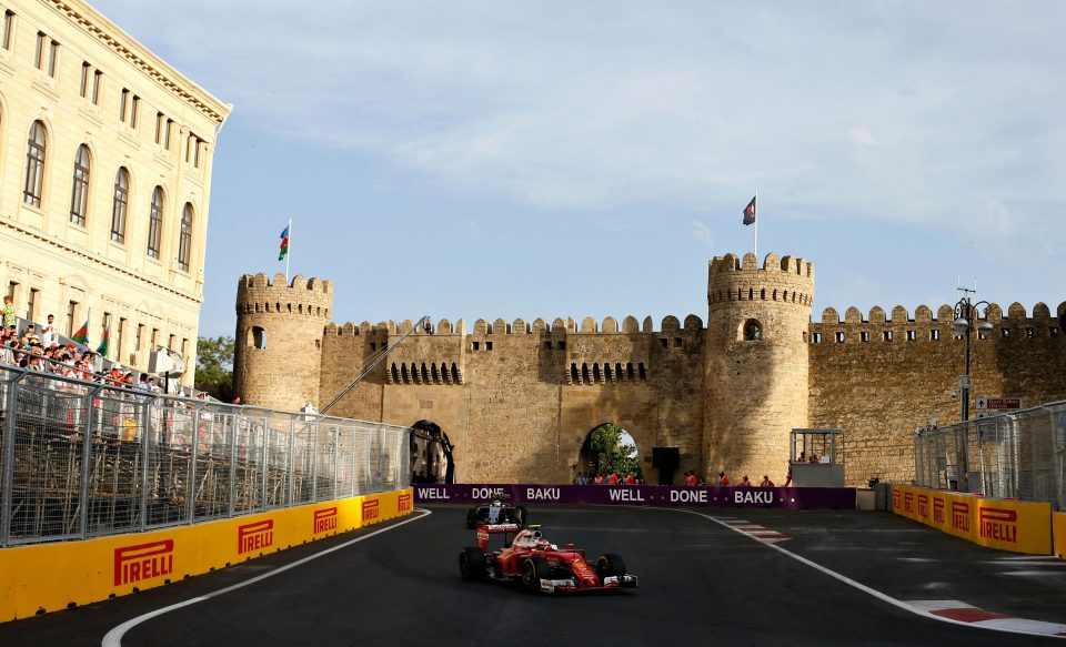 Azerbaijan Grand Prix >> Azerbaijan Grand Prix Land Of Fire Race Reignites Formula 1 S Flame