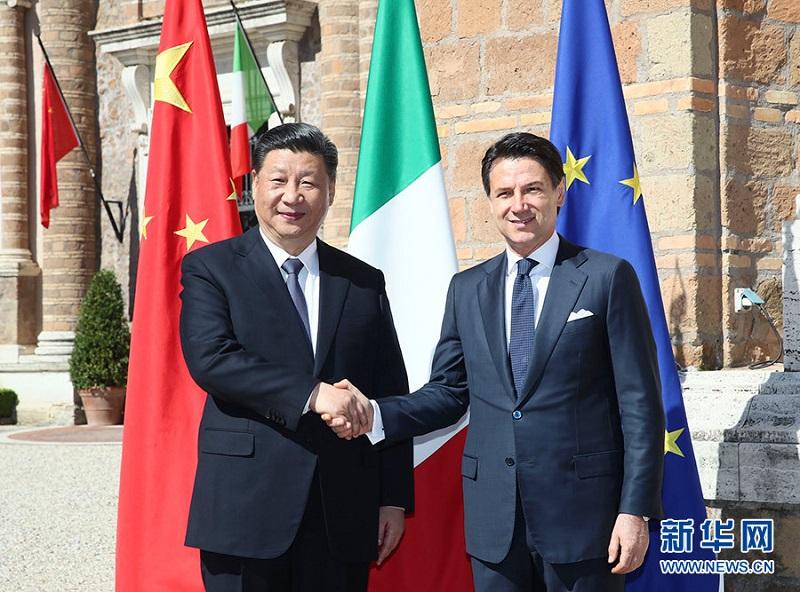 BRI enters Italy