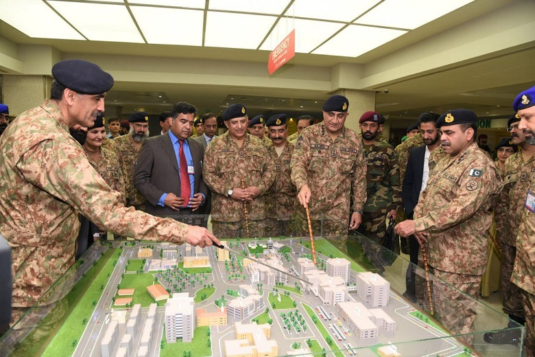 Army Chief inaugurates new blocks at CMH Rawalpindi