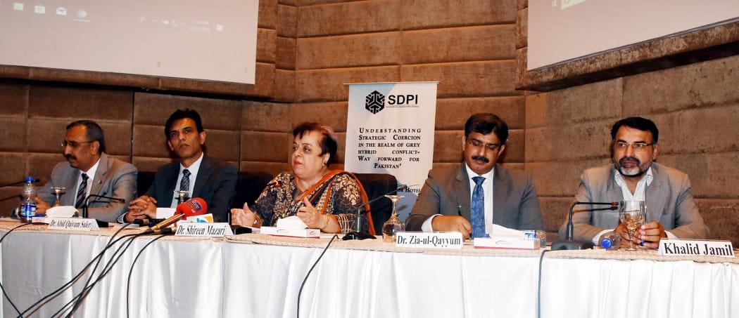 Strategic coercion imposed by US has no bases in international laws: Shireen Mazari