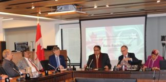 Pakistan's High Commissioner Raza Bashir Tarar Meets Canadian Parliamentarians