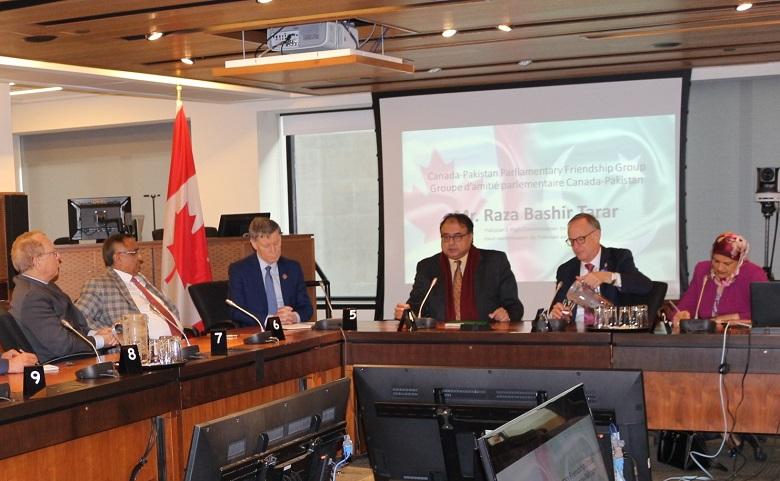 Pakistan's High Commissioner Raza Bashir Tarar Meets Canadian