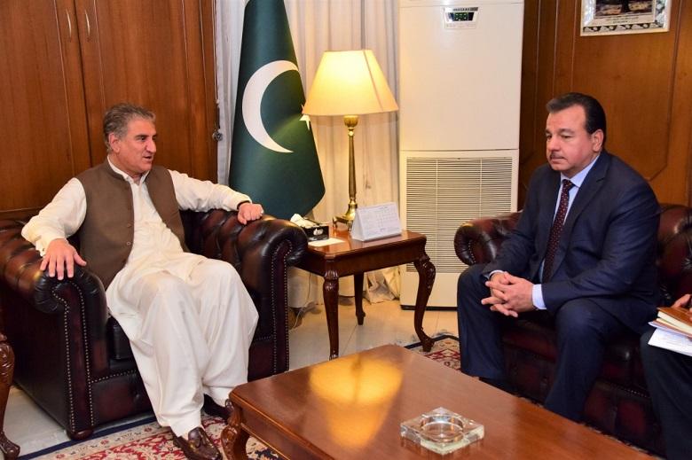 Qureshi underscores importance of enhancing Pak-Tajik bilateral relations