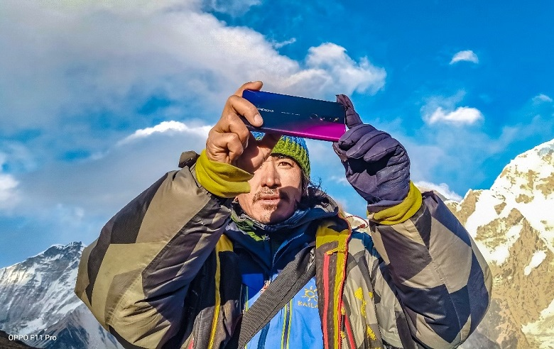 The Altitude of Photography: OPPO F11 Pro x Mount Everest