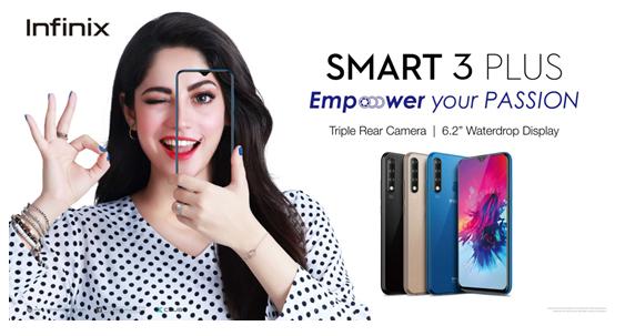 Infinix Smart 3 Plus the hottest budget phone