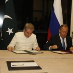 Shah Mahmood Qureshi and Sergey Lavrov sign Pakistan-Russia Joint Statement on No First Placement of Weapons in Outer Space