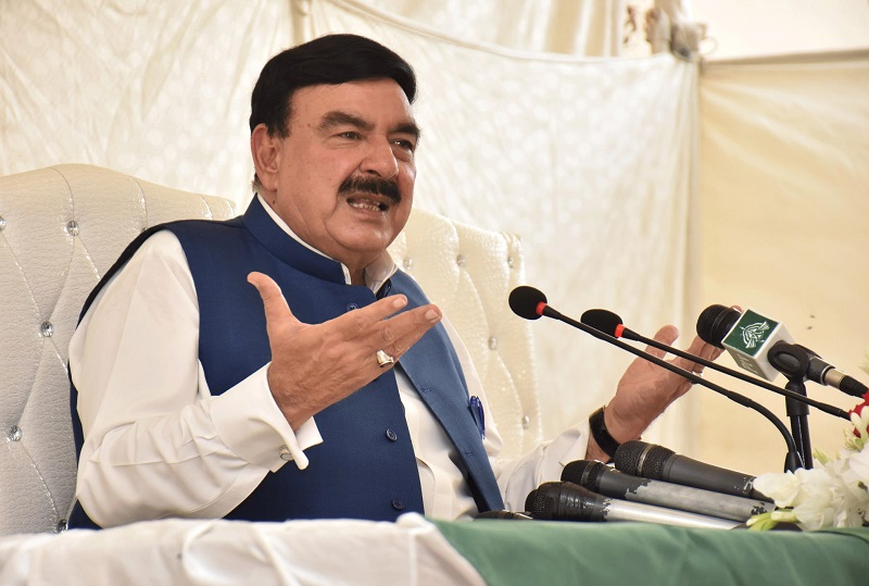 ML-1 - The Minister for Railways Sheikh Rasheed Ahmad has said that the Executive Committee of the National Economic Council (ECNEC) is likely to approve Main Line-1 (ML-1) project this month. While addressing a news conference in Islamabad on Friday, the minister said that the ML-1 track will help control railways accidents and generate jobs for hundreds and thousands of youth. Sheikh Rasheed said that it will be a crossing free track which will reduce travel time from Karachi to Lahore to seven hours while it will take two hours from Rawalpindi to Lahore. The railways minister said that Main Line-1 will enable trains to run at a speed of 160 kilometers per hour which can be further extended to 200 kilometers per hour. The minister said that ML-1 is a revolutionary project to be completed by the PTI Pakistan Tehreek-e-Insaf (government) and will revamp the entire structure of Pakistan Railways. Furthermore, he said that 10 percent of technical staff like engineers will come from China while rest of the work force will be from Pakistan to accomplish the project. Sheikh Rasheed said that the multibillion-project will be completed from five to eight years with the Chinese help.