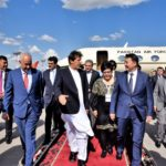PM Imran Khan arrives Bishkek to attend SCO's Council of the Heads of State Meeting