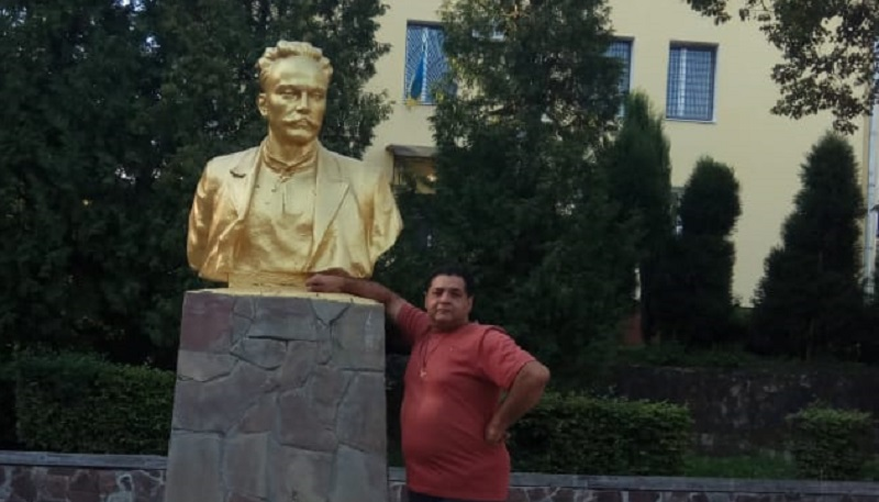 A dialogue with Ivan Yakovych Franko Іван Якович Франко