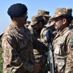 Commander Rawalpindi Corps Lt General Bilal Akbar visits troops deployed along LoC