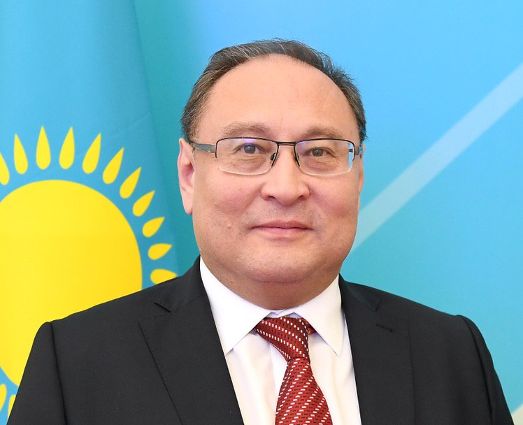 Newly appointed Ambassador Akan Rakhmetullin is also a career diplomat, a competent expert in multilateral diplomacy, international security and disarmament