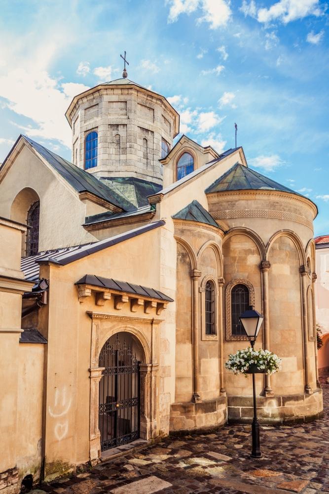 Armenian Cathedral Lviv, Ukraine