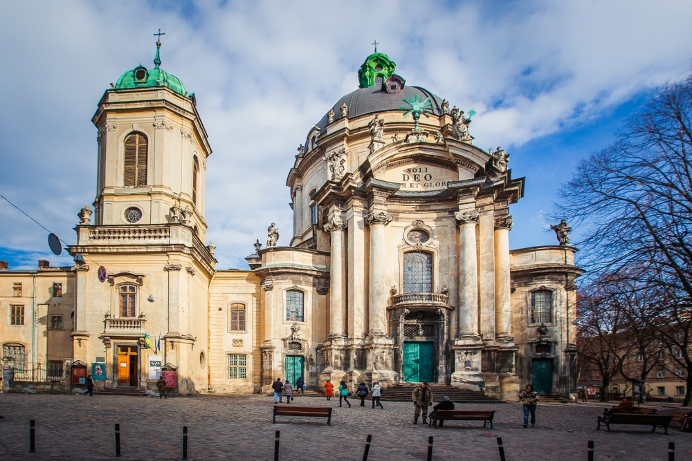Dominican church Lviv, Ukraine