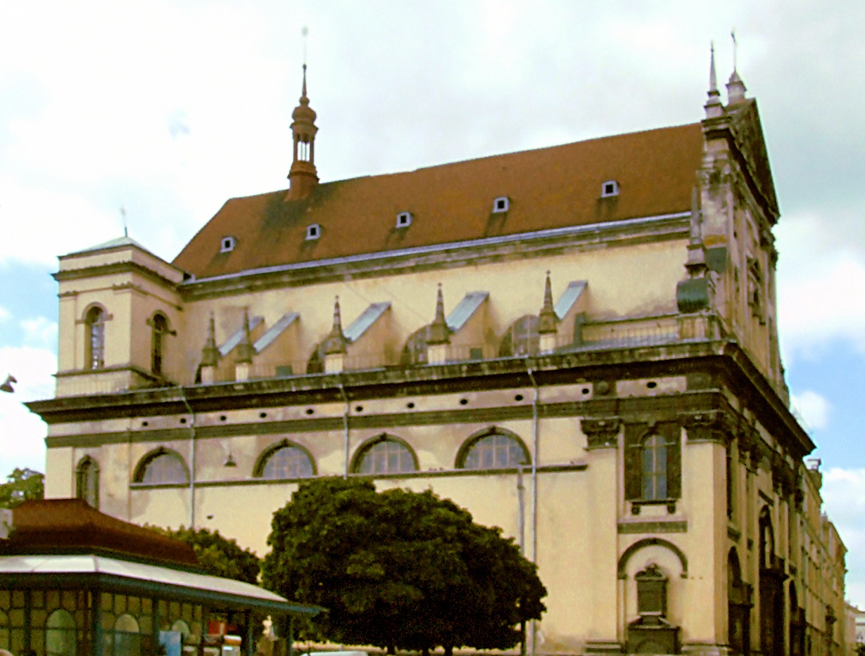 Saints Peter and Paul Garrison Church is also known as the Jesuit Church