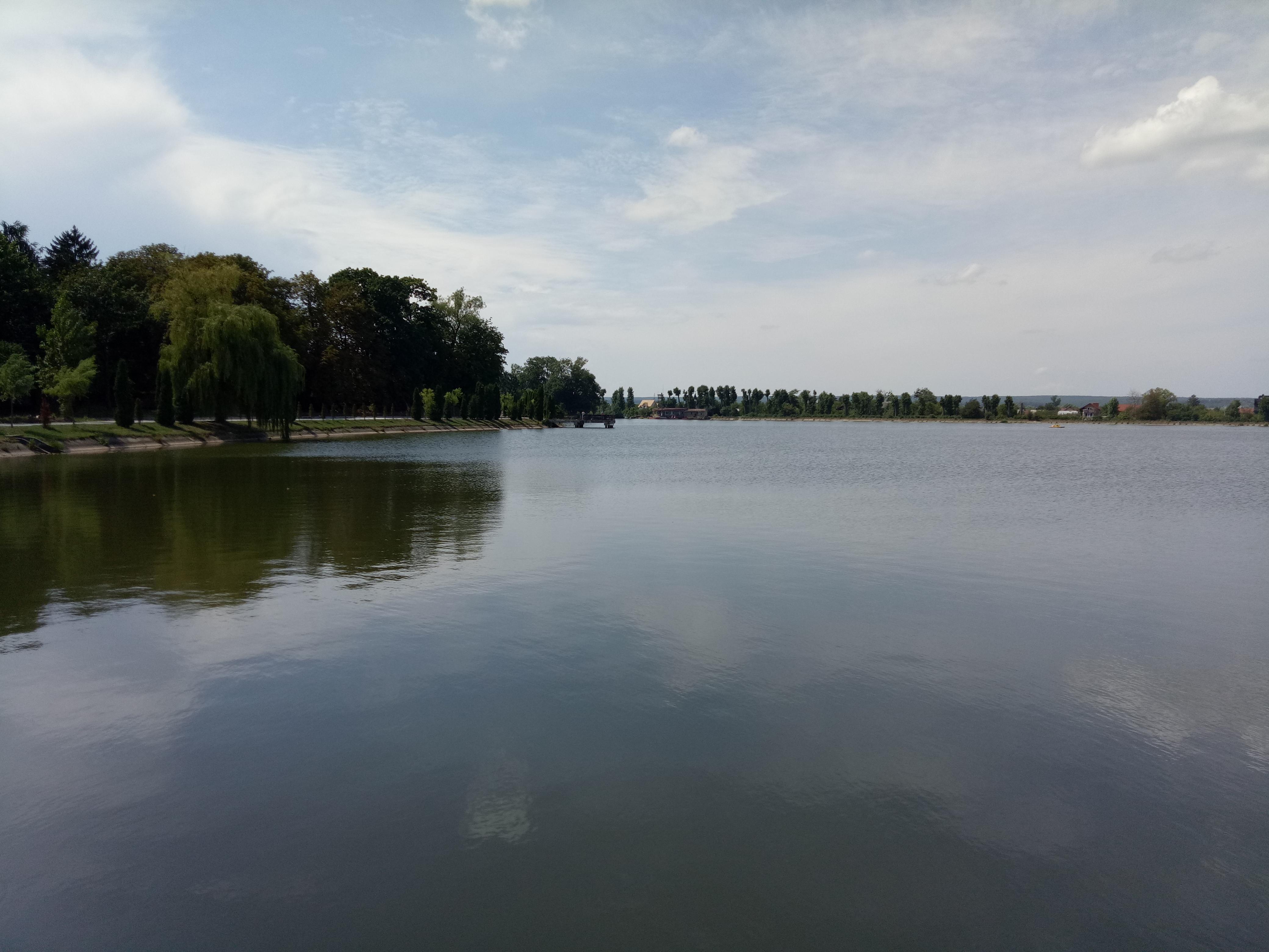 Misʹke Ozero (Міське озеро) is man-made Lake or so-called Stanislavsky Sea. It was established in 1955