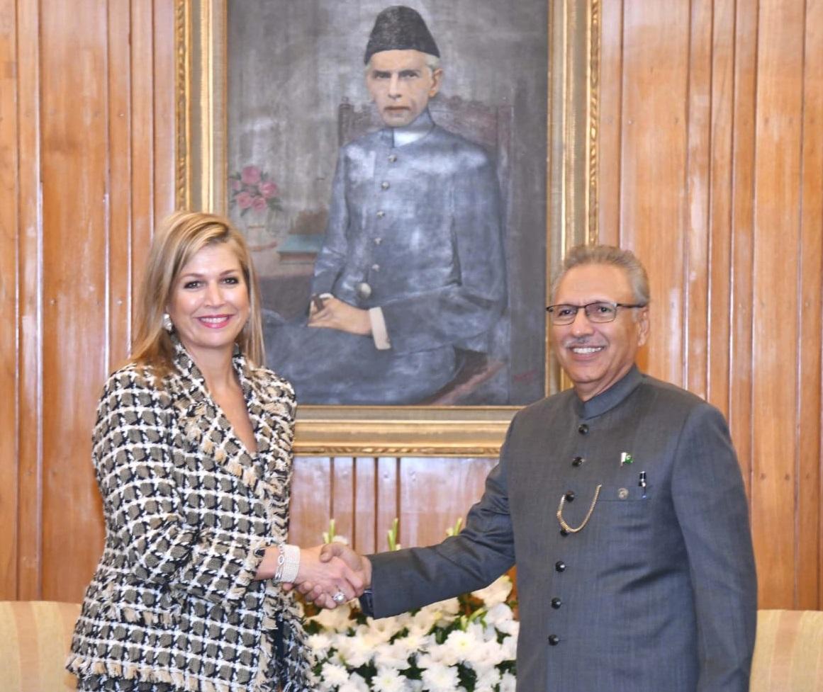 Queen Maxima UNSGSA calls on President of Pakistan