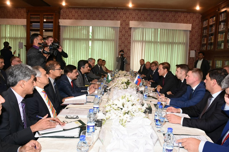 Russia committed to expand multifaceted cooperation with Pakistan: Trade Minister