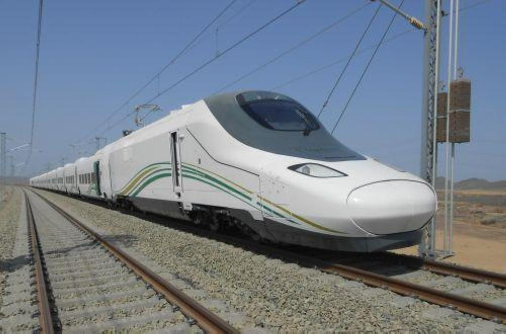 Makkah to madina via high speed train