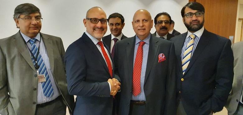 Chaudhry Sarwar meets European Parliamentarian Ismail Ertug