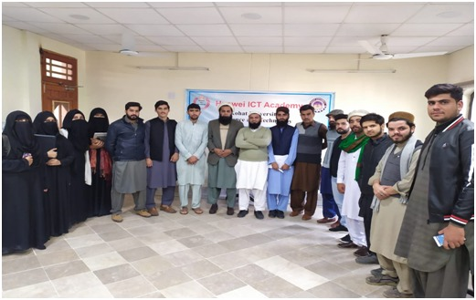 First batch of students graduate from Huawei ICT Academy at Kohat University