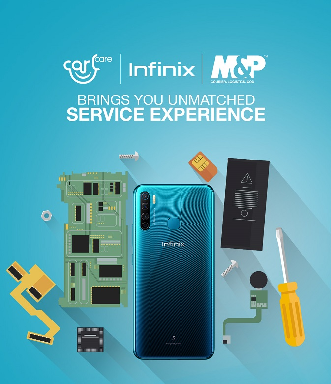 Infinix and CarlCare join hands with M&P to provide unmatched after-sale services