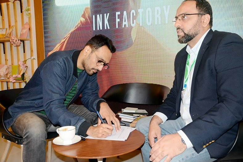 Ink Factory signs multiple agreements at Print Pak 2019