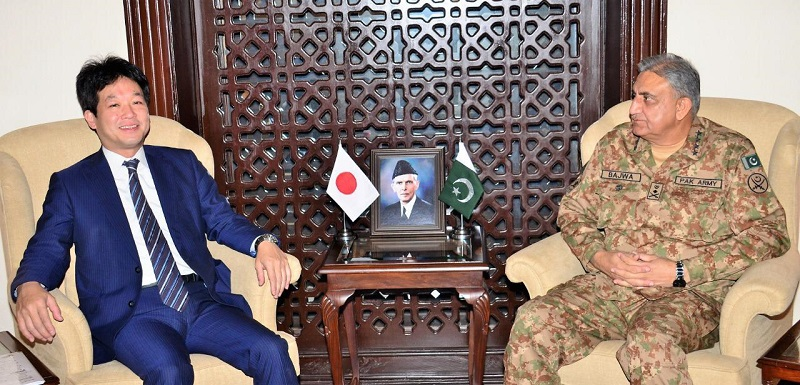 Japanese Prime Minister's Special Advisor meets Pakistan Army Chief