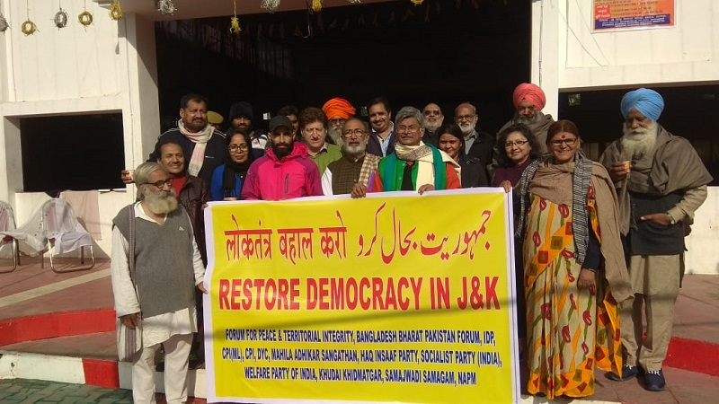 Kashmir Solidarity Marchers set to release report on J&K situation in New Delhi