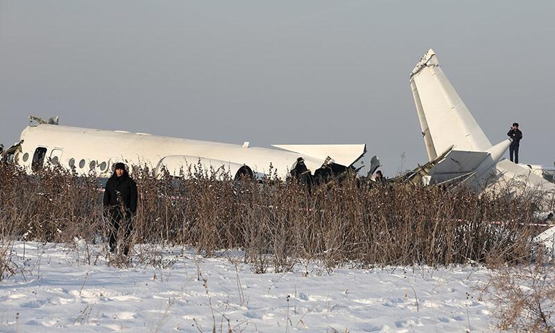 Pakistan condoles deaths in Kazakhstan plane crash