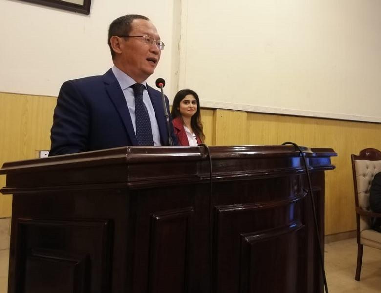 CGSS & Punjab University Organize Interactive Session with Kyrgyz Ambassador Erik Beishembiev