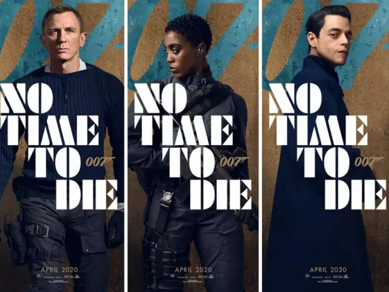 Trailer for James Bond movie 'No Time To Die' released with guns and action