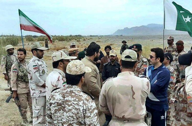 Pakistan and Iran conduct joint border patrolling